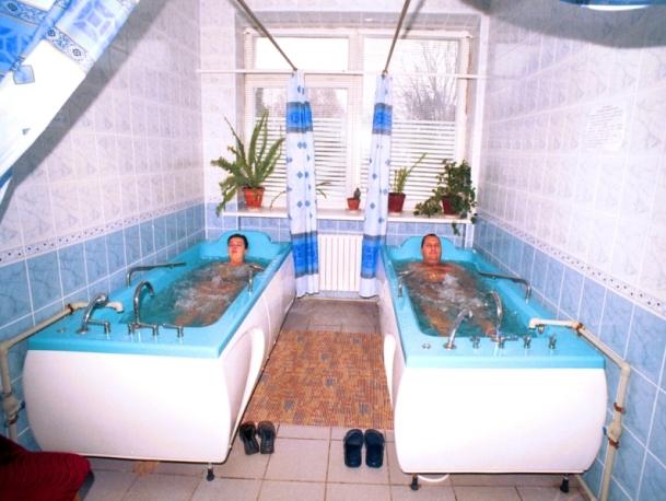 Лечение в Трускавце - гидропроцедуры
