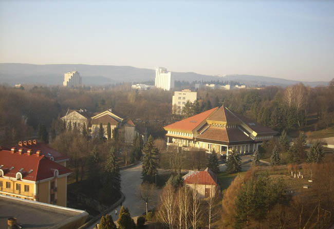 Курорт Трускавец - панорама города