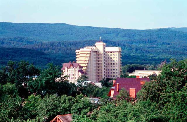 Історія Трускавця - сучасне місто