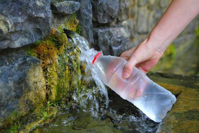 Минеральная вода в Трускавце - горный источник