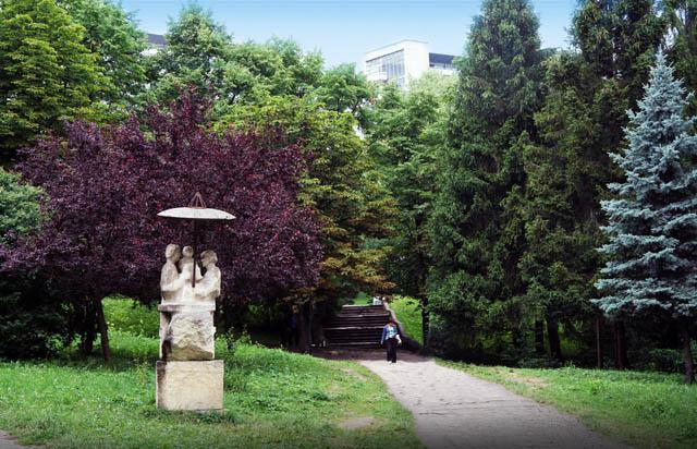 Отдых в Трускавце - старый парк