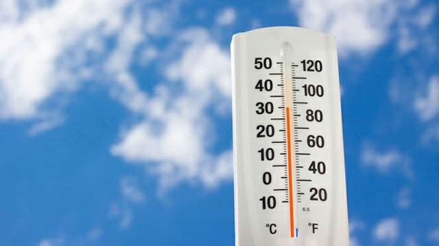 Погода в Трускавце - столбик термометра